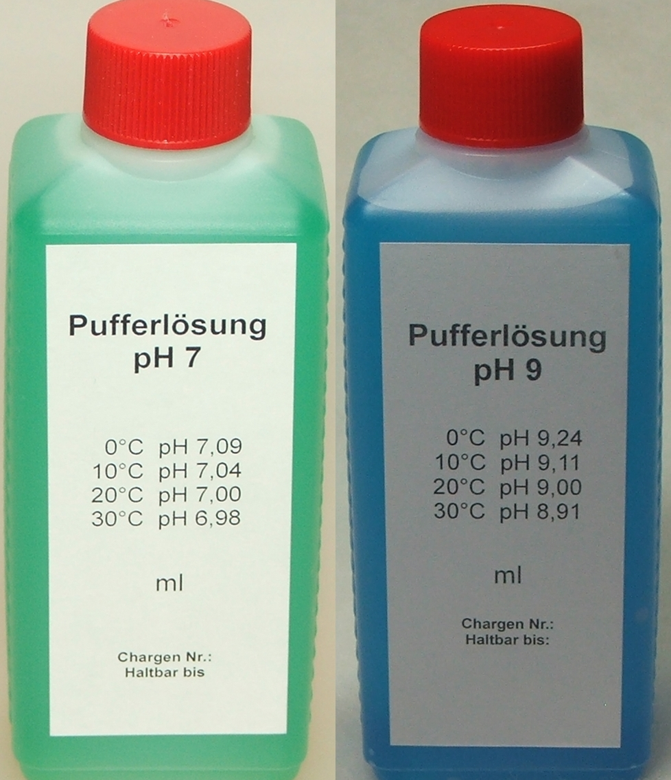 Pufferlösung / Eichlösung Set je 100 ml pH7 + pH9